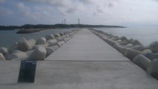 前泊港防波堤(北)工事(2工区)