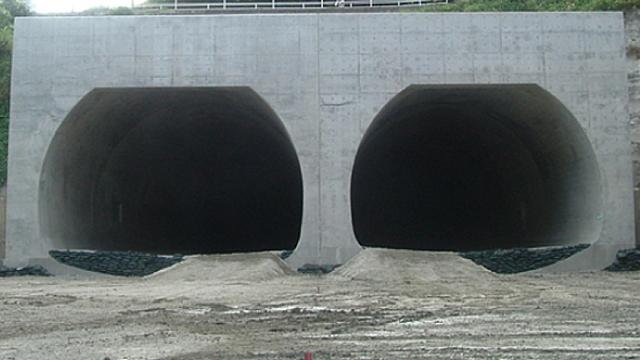 豊見城トンネル(その1)工事
