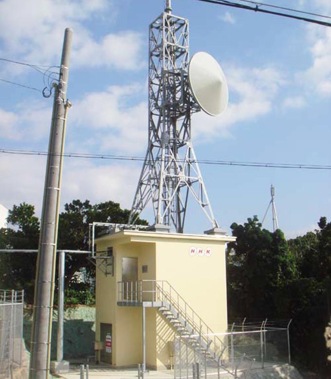 沖縄・多良間デジタルテレビ中継放送所建設工事