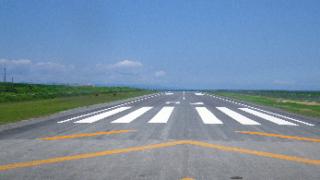波照間空港滑走路改良工事