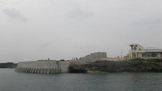 海中公園海中観察施設工事