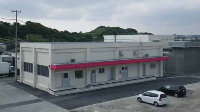 (株)沖縄県食肉センター食肉処理施設建設工事(山羊施設)