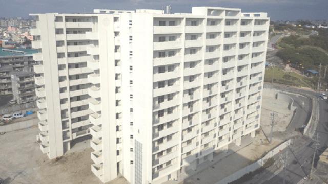 宇栄原市営住宅第3期建替工事(建築1工区)