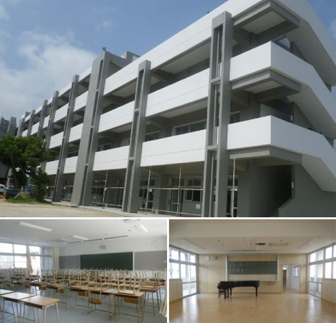 八重山高校校舎改築工事(建築1工区)