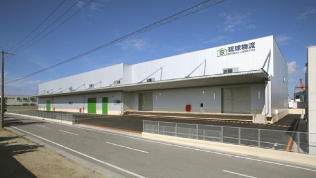 琉球物流いなんせ倉庫新築工事