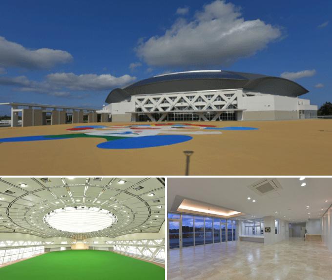 スポーツ観光交流拠点施設建設工事(建築2工区)