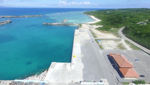 波照間漁港5号岸壁改良工事(2工区)