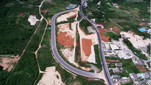 与勝地区地下ダム建設工事(その3)