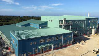 多良間村製糖施設(含みつ糖製造)新築工事