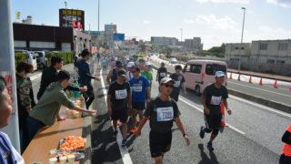 那覇マラソンの応援ボランティア!!