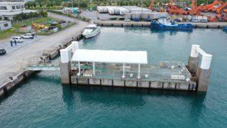 那覇港港湾業務艇浮桟橋劣化対策工事